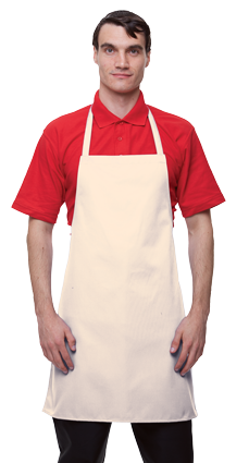 JAE3 Event Bibbed Apron White